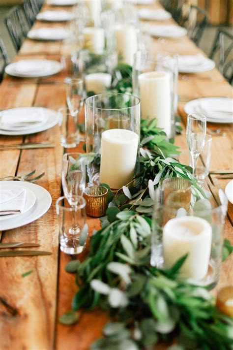 Fresh Wedding Trend: Greenery Only   One Day   Wedding