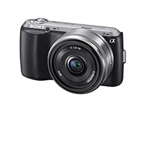 sony nex-c3 camera 16mm pancake lens