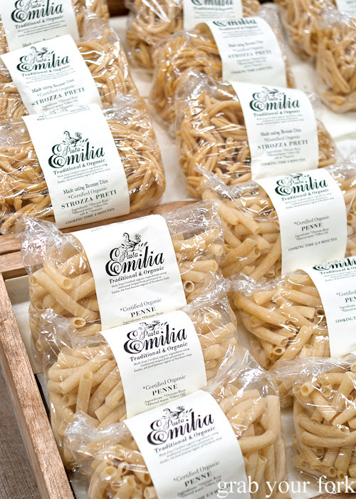 Organic penne and strozzapreti from Pasta Emilia at the Sunday Marketplace, Rootstock Sydney 2014