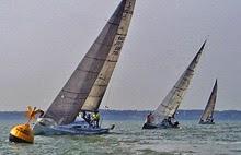 J/111s sailing Warsash Spring Series