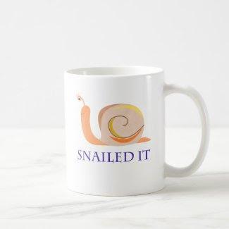 Snailed It Coffee Mugs