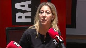 La portaveu del govern i consellera de la Presidència, Neus Munté, aquest dijous al matí a Rac1