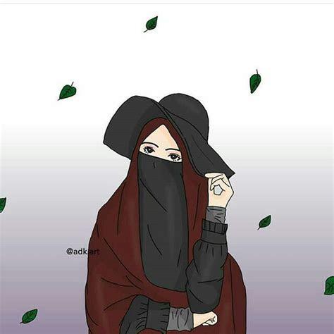 pin oleh niasastra  kartun muslimah anime muslimah
