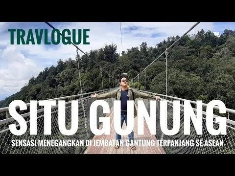 Berjalan di Atas Jembatan Gantung Terpanjang Se-Asia Tenggara