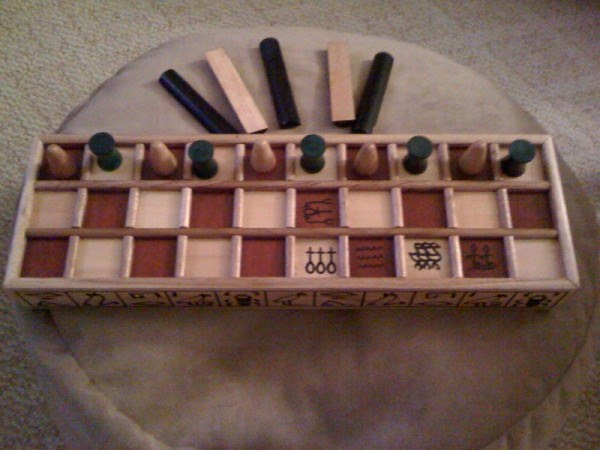 Lost Senet Game