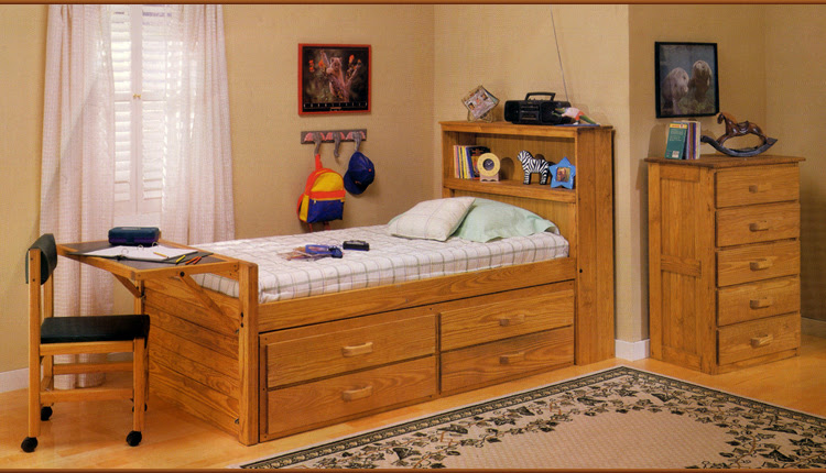 Bed With Desk Attached Roole