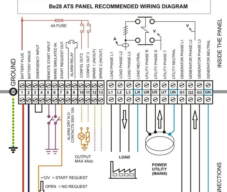 32 Automatic Transfer Switches For Generators Wiring