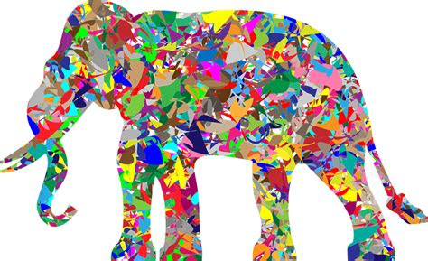 gambar vektor gratis gajah pachyderm hewan afrika