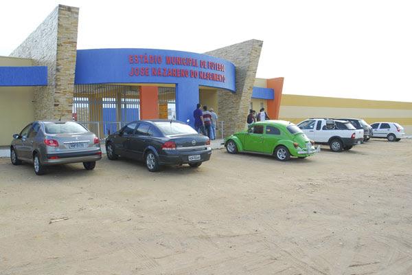 Estádio Nazarenão ainda não recebeu aval da CBF para a série B