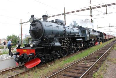 Ett omodernt tåg