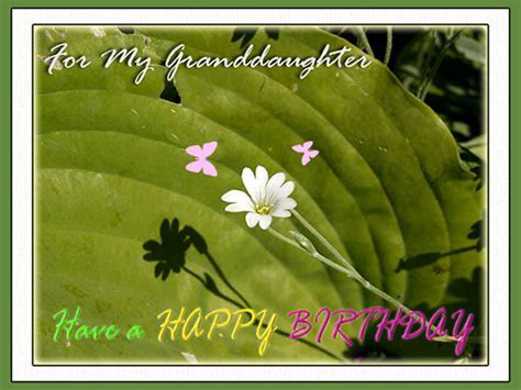 For My Granddaughter. Free For Son & Daughter eCards
