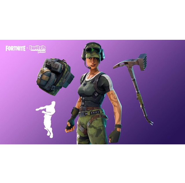 Current Fortnite Twitch Prime Skin | Free V Bucks Epic ...