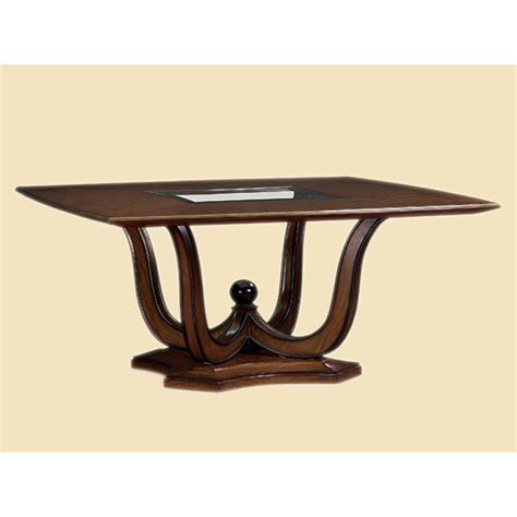 Marge Carson TAN08 2 Tango Square Dining Table Discount Furniture at Hickory Park Furniture