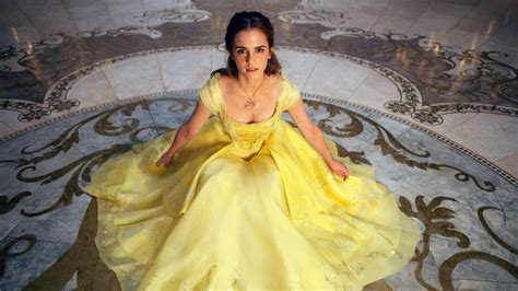 Emma Watson Belle Beauty and the Beast Wallpapers   HD