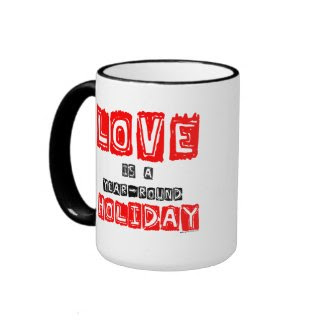 Love Holiday mug
