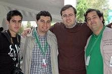 Los 4 fantasticos!!!!! jejej