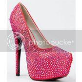 Crystal Rhinestone Jewel Embellished Platform High Heel Stiletto Party Pump