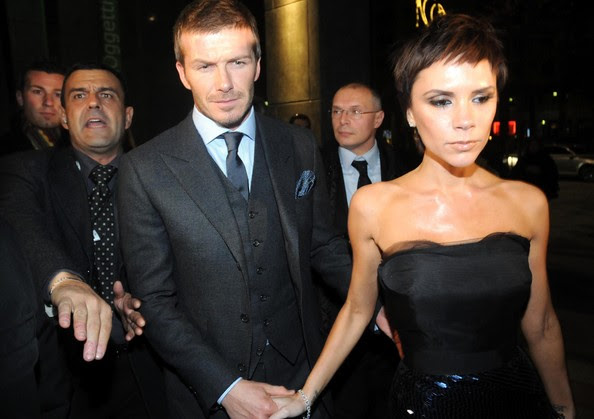 David And Victoria Beckham Out For Dinner With Some Famous Friends