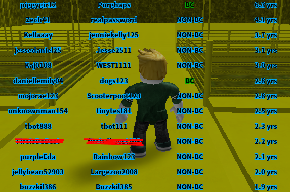 roblox old account dump 2020