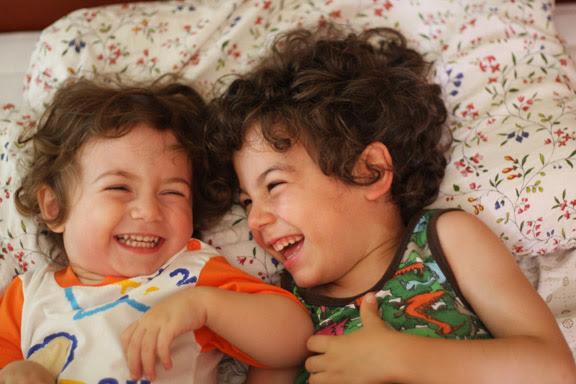 pablo & bianka laughing