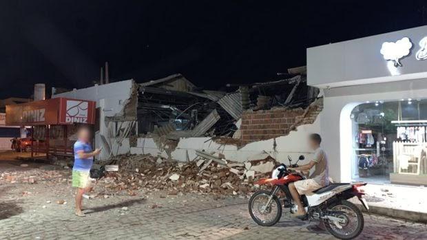São Bento é invadida por 30 homens e tem 2 agências bancárias roubadas a explosões