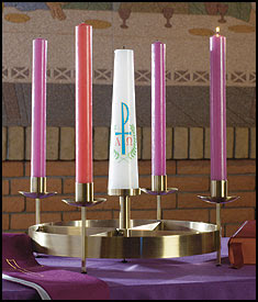 Large Table Advent Wreath