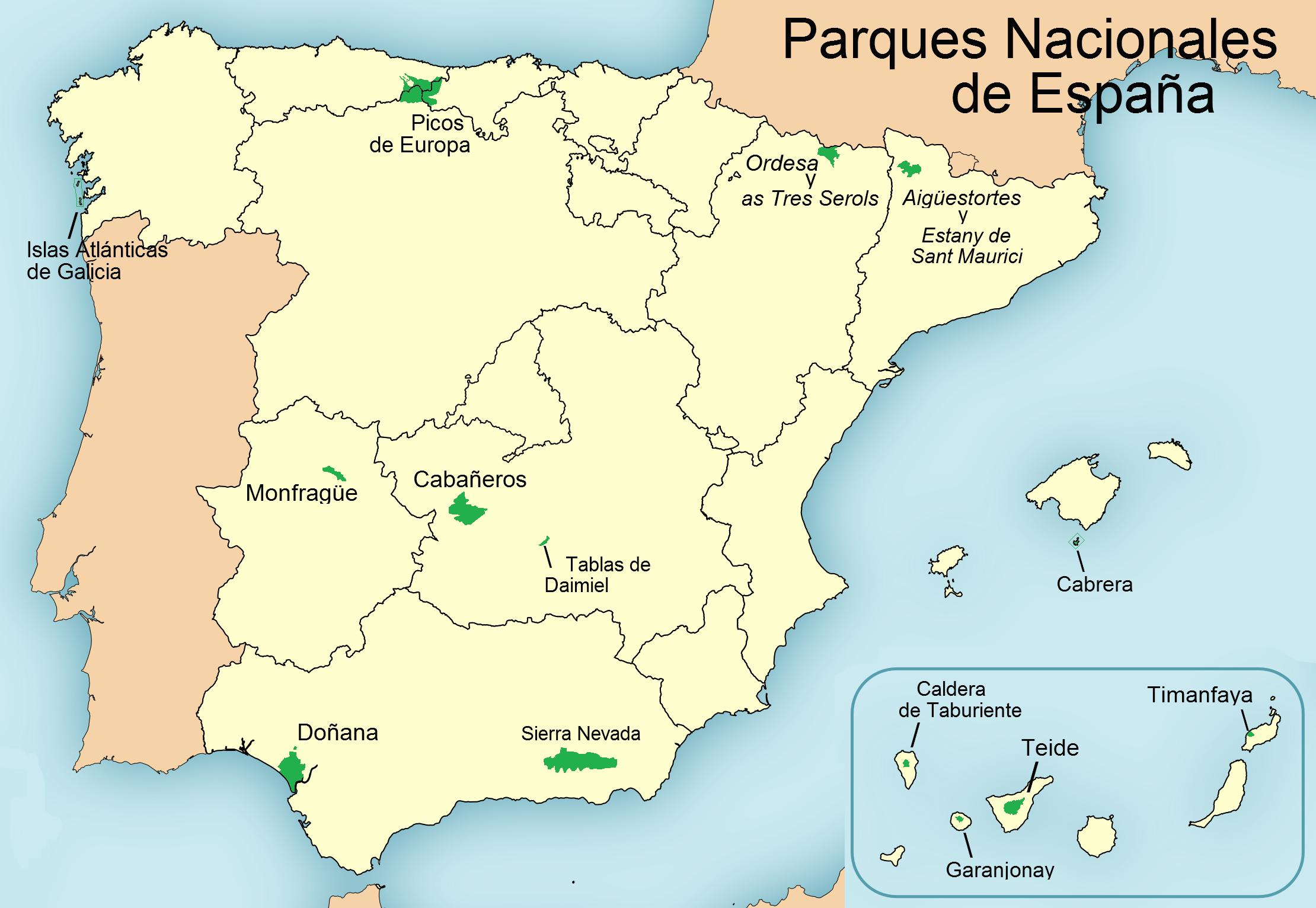 blog Safari Club, video resumen de los Parques Nacionales de España