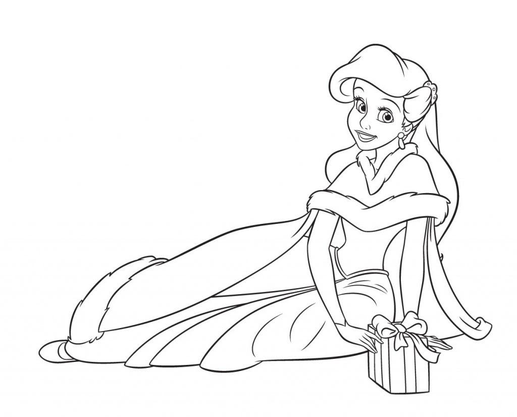 【Meilleur sélectionné】 Coloriage Princesse à Imprimer Gratuit