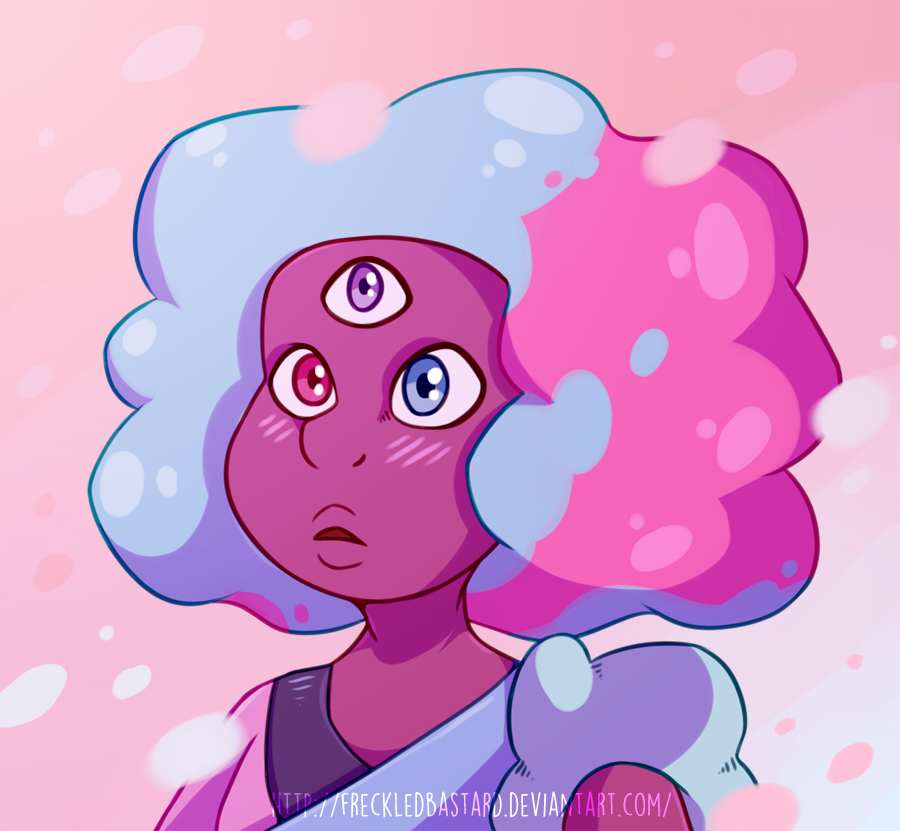 Oooh my gosh you guys...This episode I just....ahhhh!   Art by FreckledBastard Original Character: Garnet (Steven Universe)