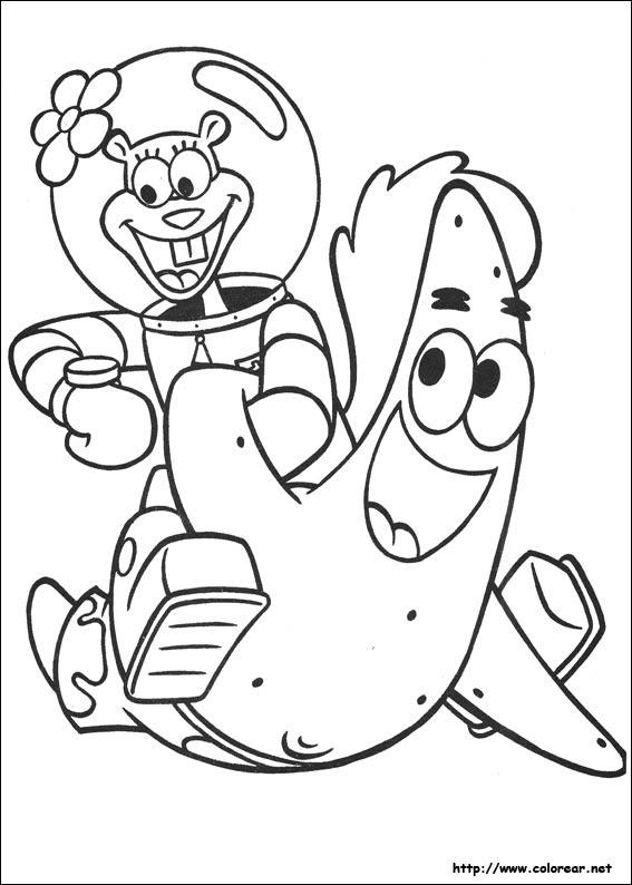 Dibujos De Bob Esponja Para Colorear En Colorearnet