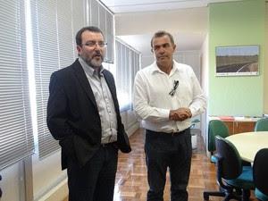 Marcelo Machado assumiu como diretor administrativo e de finanças do Daer há uma semana (Foto: Divulgação/Daer)