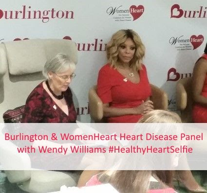 Burlington and WomenHeart Heart Disease Panel with Wendy Williams