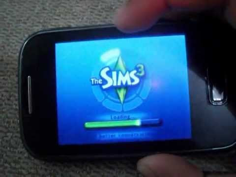 The Sims 3 di Galaxy Pocket.