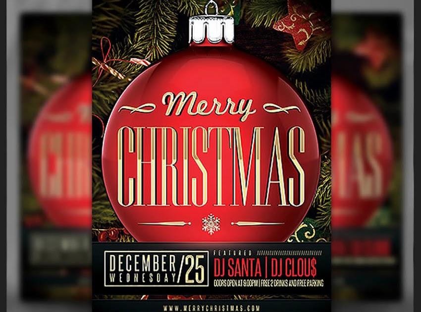 Contoh Undangan Natal Keluarga / 21 Contoh Surat Undangan ...