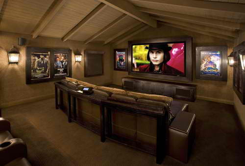 20 Stunning Home Theater Rooms That Inspire You - Decoholic