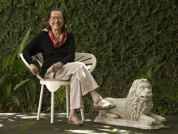 Marianne Peretti foi a única mulher a integrar a equipe de Oscar Niemeyer que atuou em Brasília (Foto: Breno Laprovitera/Divulgação)