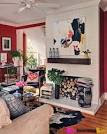 Asian Inspiration: Hot China Red Living Room | BetterDecoratingBible