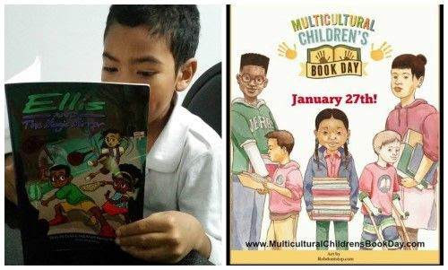 Ellis and The Magic Mirror for Multicultural Children's Book Day