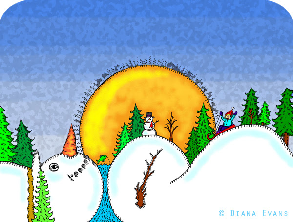 Snowman Horizon