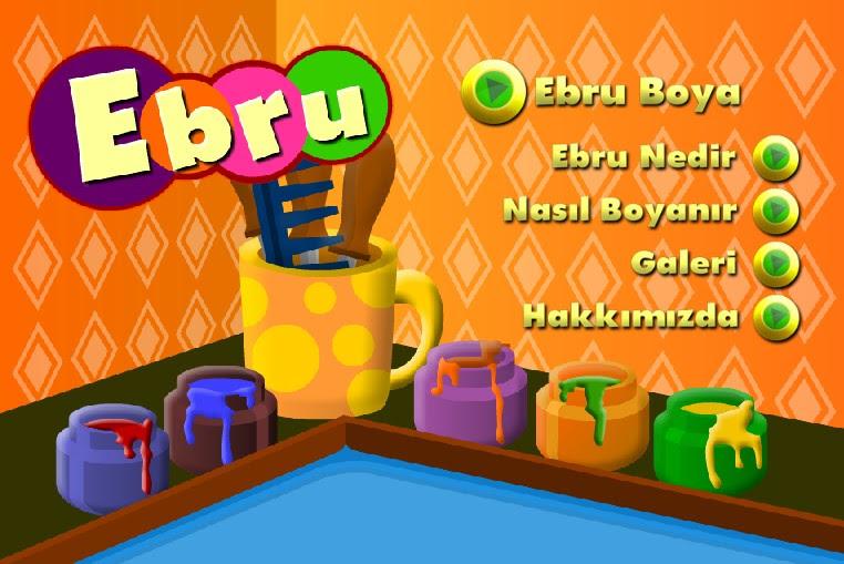 Ebru Boyama Oyunu Oyun Oyna