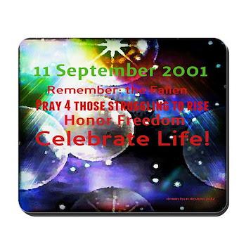 September 11th Mousepad