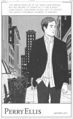 comics ad - Perry Ellis NYT06-06-06