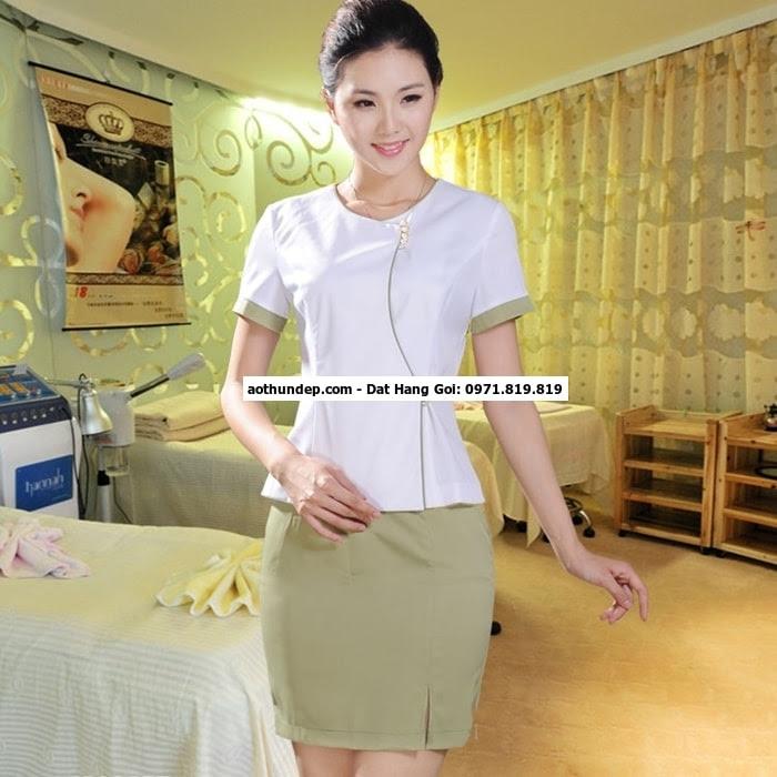 bán đồng phục nhân viên spa