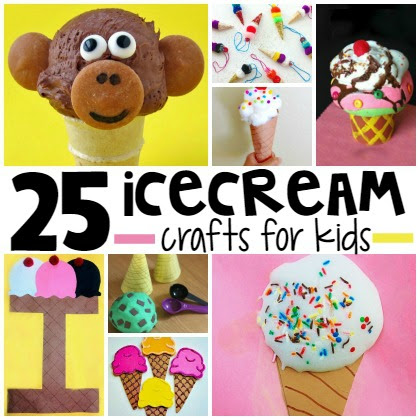 25 Ice Cream Crafts For Kids