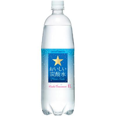 激安 超特価商店街 Pokka Sapporo おいしい炭酸水 1l 15本 無糖炭酸飲料水 実質1154円 1900円以上送料無料