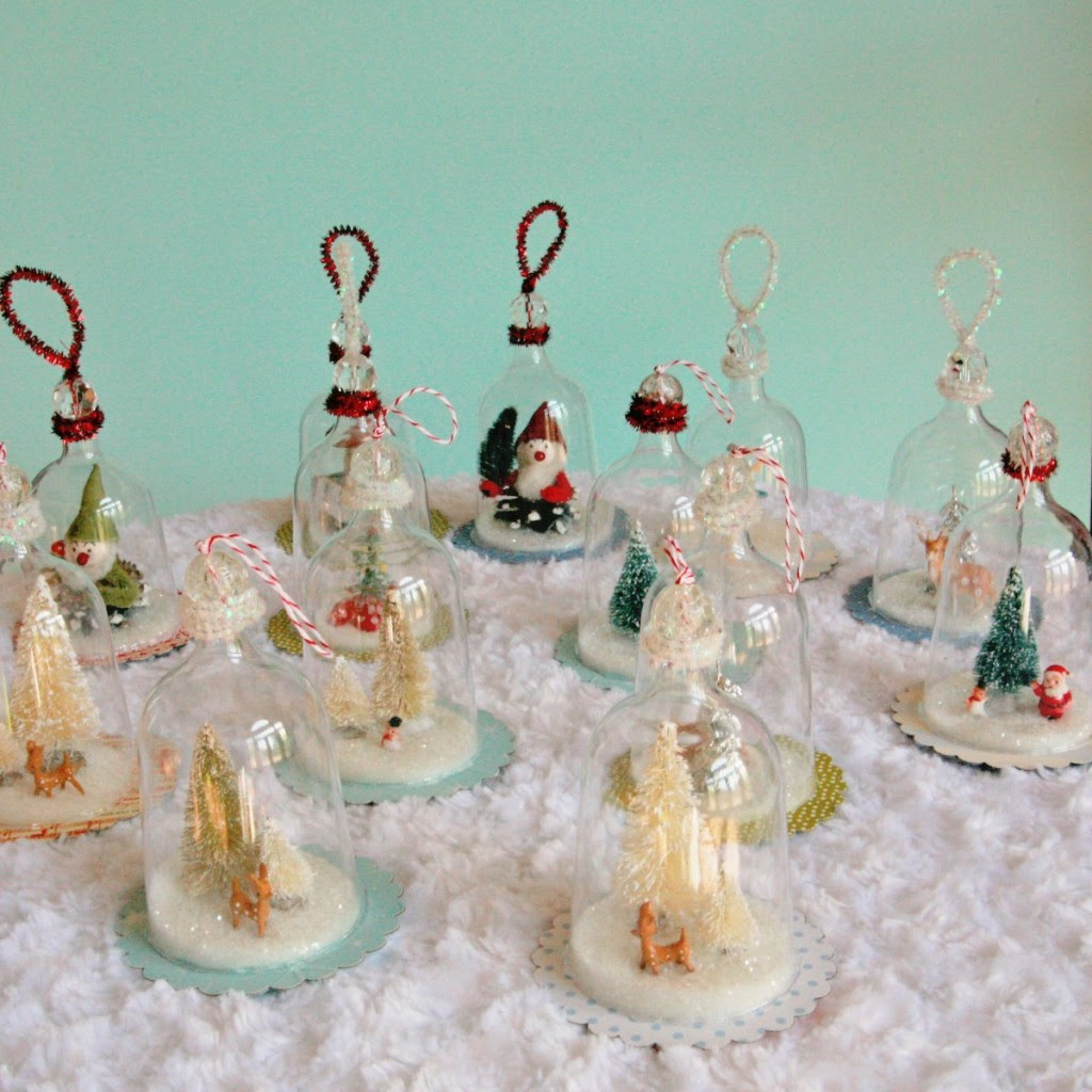 IMG 5413 1199x1200 1024x1024 DIY Vintage Inspired Bell Jar Ornaments