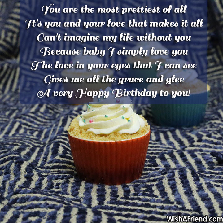 You Are The Most Prettiest Of Birthday Quote For Wife