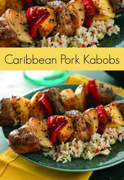 Caribbean-Pork-Kabobs-Recipe-Jenny Evolution