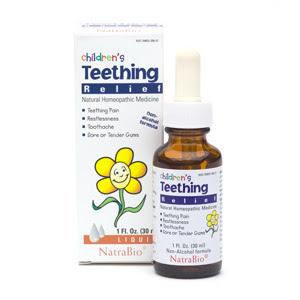 NatraBio Teething Relief