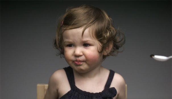 Αντιδράσεις παιδιών σε νέες γεύσεις